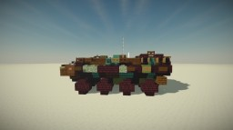 ACV 1.1 - Amphibious Combat Vehicle Minecraft Map & Project
