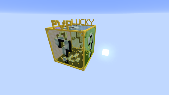 PVP only arena with lucky blocks