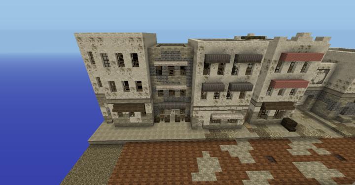 Store, Pavement Cafe, & Filler Building
