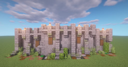 easy Wall Design + Tutorial Minecraft Map & Project