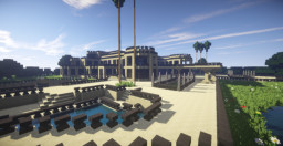 Modern Big Mansion Minecraft Map & Project