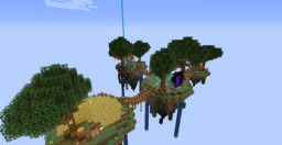 Small Skyblock Islands Minecraft Map & Project