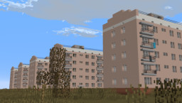Soviet apartment / Хрущёвка Серии 1-335 Minecraft Map & Project