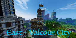 East - Valcour City Minecraft Map & Project