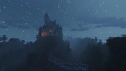 Transylvania Dracula Inspired Castle Minecraft Map & Project