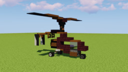 Helicopter Car Minecraft Map & Project