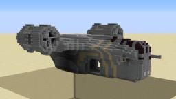 Razor Crest +interior/litematica file (Mandalorian) Minecraft Map & Project