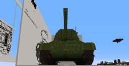 Soviet T-34-85 medium vodka Minecraft Map & Project