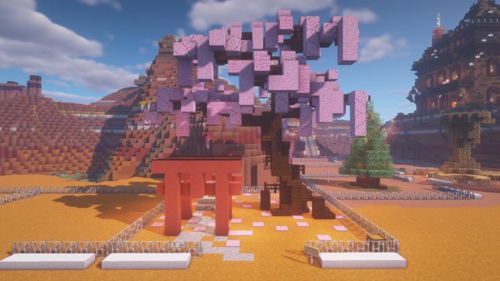 Popular Server Project : Cherry Blossom