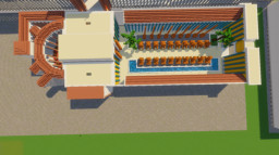 Temple of Isis and Serapis of Rome. Minecraft Map & Project