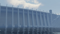Hydroelectric Dam Minecraft Map & Project