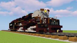 Union Pacific Big Boy Locomotive Minecraft Map & Project
