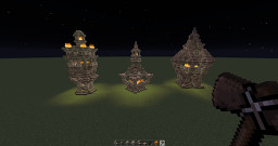 Village Beacons Minecraft Map & Project