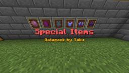 Special Items Datapack v1.0 by Taku17 Minecraft Data Pack
