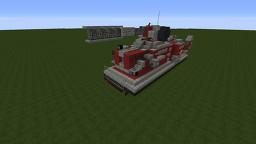Atompunk Hover Tank Minecraft Map & Project