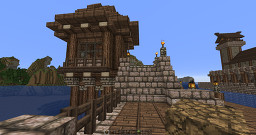 Harbor Post Minecraft Map & Project