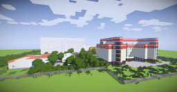 Russian municipal clinical Hospital #2 Minecraft Map & Project