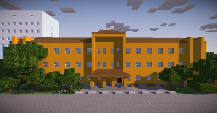 Polyclinic building