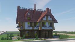 Meta-Union: Medium Size Medieval House Minecraft Map & Project