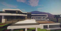 Modern Mansion In Berverly Hills Minecraft Map & Project