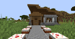 Minecraft Small Cozy Lodge 1.14 Minecraft Map & Project
