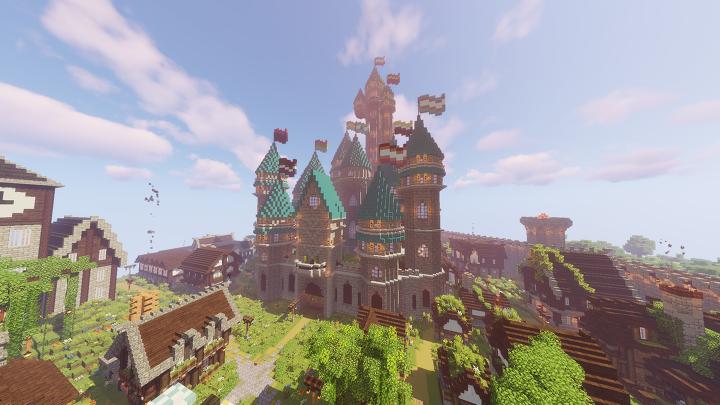 Survival 1 Spawn Castle