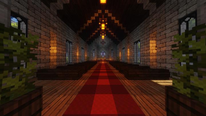 Survival 1 Spawn Church