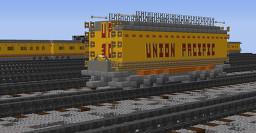 Union Pacifc Gas Turbine Gasoline Car Minecraft Map & Project