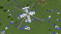 Fairey Rotodyne Minecraft Map & Project