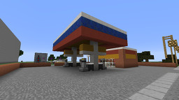 Liberty petrol station Minecraft Map & Project