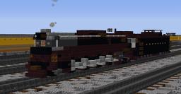 Pennsylvania 6710 Steam Locomotive Minecraft Map & Project
