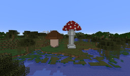 Boletus and Toadstool Minecraft Map & Project