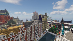 Connected cities Minecraft Map & Project