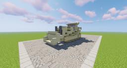 CAT D11 Bull Dozer Minecraft Map & Project