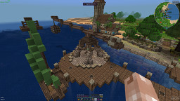 Medieval Port Crane Minecraft Map & Project