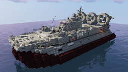 Zubr Class Military Hovercraft Minecraft Map & Project
