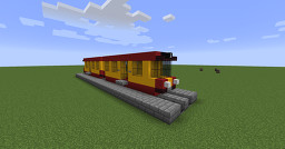 Warsaw tram (number 1) Minecraft Map & Project