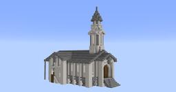 American Town Church | Ridgebury Project Minecraft Map & Project