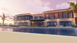 A Beach House by DiangelloCreates Minecraft Map & Project