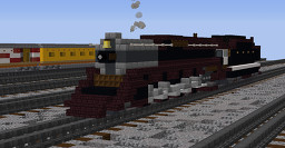 Southern #4501 Steam Locomotive Minecraft Map & Project