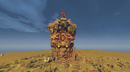 old fantasy medieval defense tower [1.14.4] Minecraft Map & Project