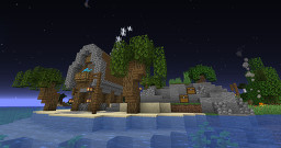 Little decorated island. Minecraft Map & Project