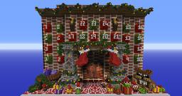 Server Advent Calendar Minecraft Map & Project