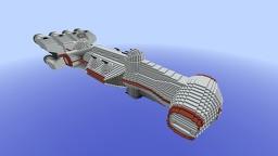 Tantive IV (Princess Leia) | CR90 Corellian Corvette Minecraft Map & Project