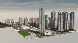 Korean city Minecraft Map & Project