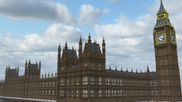 Elizabeth Tower and Big Ben clock Minecraft Map & Project