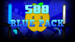 500! Blue 128x PVP Pack Minecraft Texture Pack