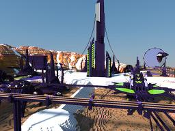 Terraforming Alien Colony Minecraft Map & Project