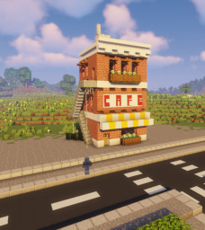 Downtown Cafe Minecraft Map & Project