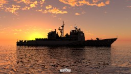 USS Monterey (CG-61) Minecraft Map & Project